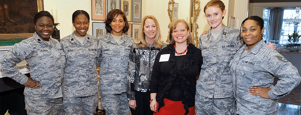 UNC Charlotte honors women in the military